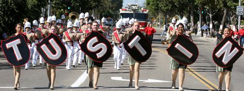 Tiller Day parade